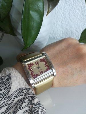 Esprit Orologio con cinturino di pelle argento-oro