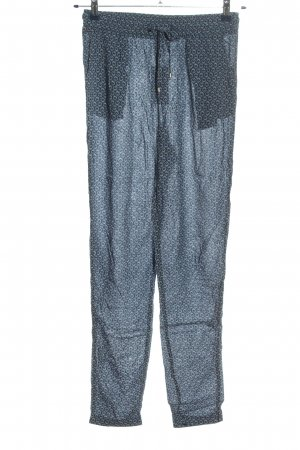 Esprit Baggy Pants blue-white abstract pattern casual look