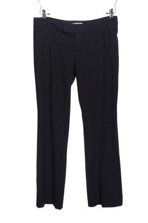 Esprit Pantalone da abito nero motivo a quadri stile professionale