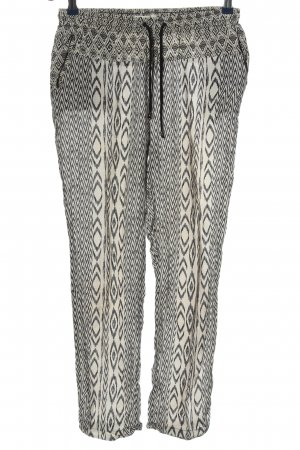 Esprit Baggy Pants white-black allover print casual look