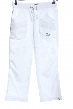 Esprit Baggy Pants white-black printed lettering casual look