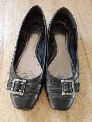 Esprit Ballerinas mit Schnalle, leder schwarz, größe 42