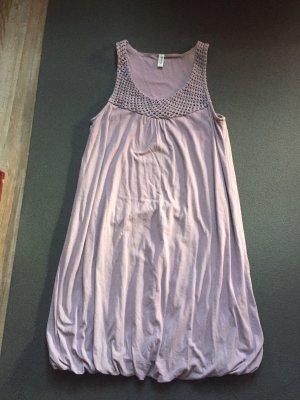 Esprit vestido de globo lila Algodón