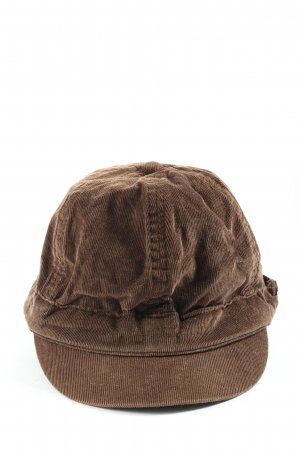 Esprit Baker's Boy Cap brown casual look
