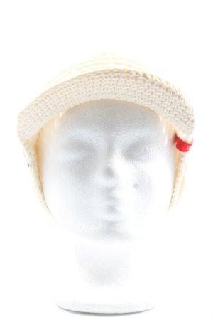 Esprit Gorra redonda con visera blanco puro look casual