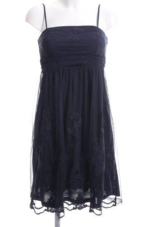 Esprit Vestido bandeau azul elegante