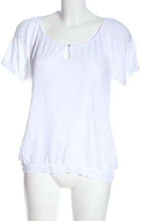 Esprit Basic-Shirt weiß Casual-Look