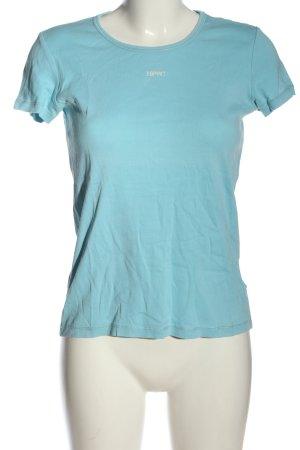 Esprit Basic-Shirt blau Casual-Look