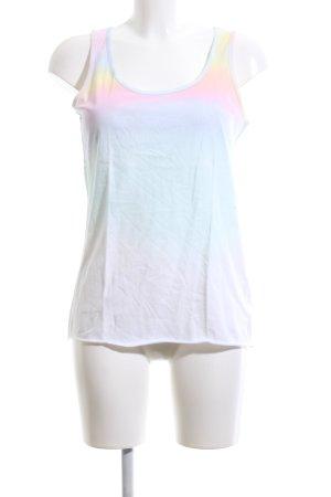 Esprit Basic Top Farbverlauf Casual-Look