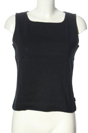 Esprit Basic topje zwart gestippeld casual uitstraling