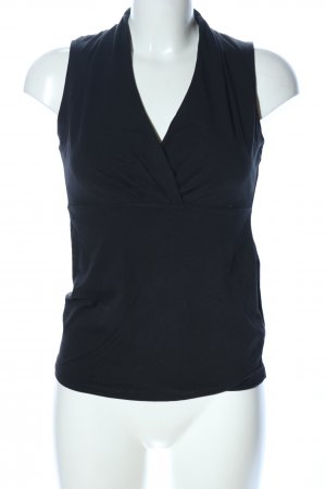 Esprit Basic Top schwarz Business-Look