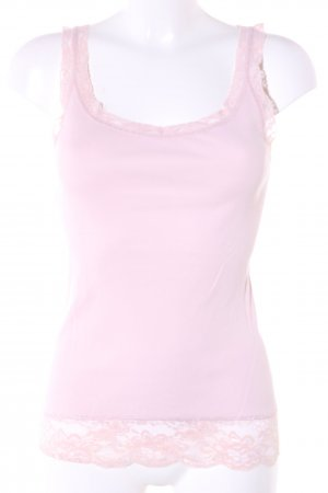 Esprit Basic Top pink Casual-Look