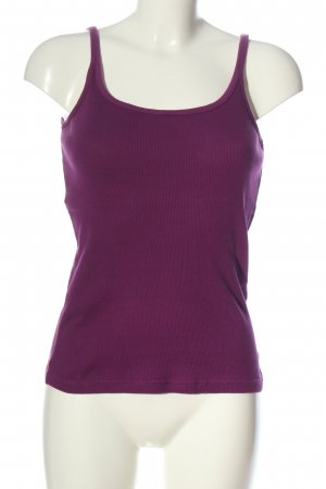 Esprit Basic topje lila casual uitstraling