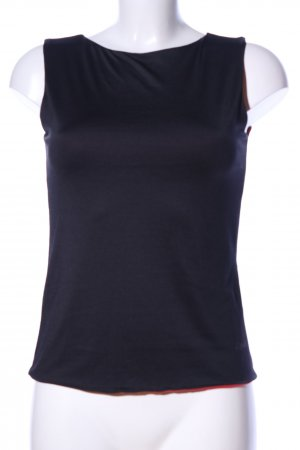 Esprit Basic Top blau Casual-Look