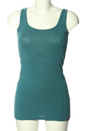 Esprit Basic Top grün Casual-Look