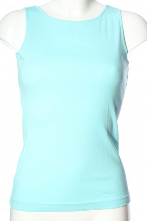 Esprit Basic topje turkoois casual uitstraling