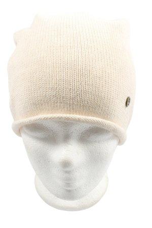 Esprit Béret blanc cassé torsades style décontracté
