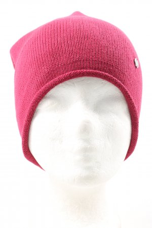 Esprit Beanie roze casual uitstraling