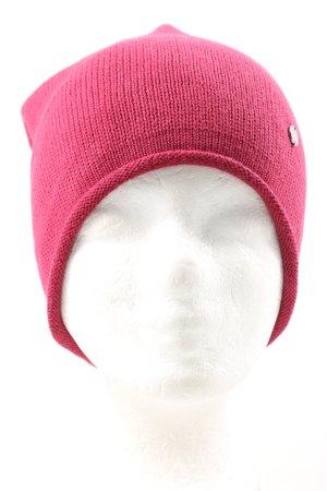 Esprit Bonnet rose style décontracté