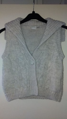 edc by Esprit Short Sleeve Knitted Jacket cream-oatmeal wool
