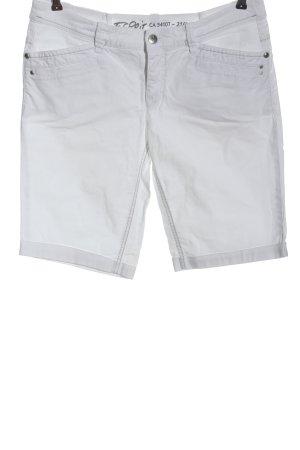 Esprit Bermudy biały W stylu casual