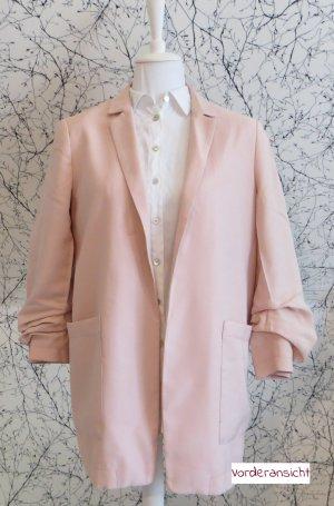 Esprit Boyfriend blazer roze Viscose