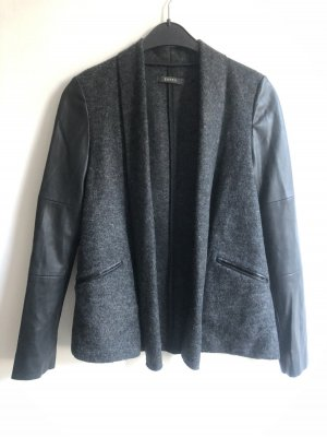 Esprit Blazer in lana nero-antracite
