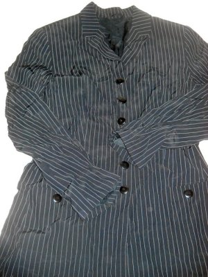 Esprit Blazer Boyfriend Jacke schwarz Streifen weiß S H M L 36 38 40 oversized