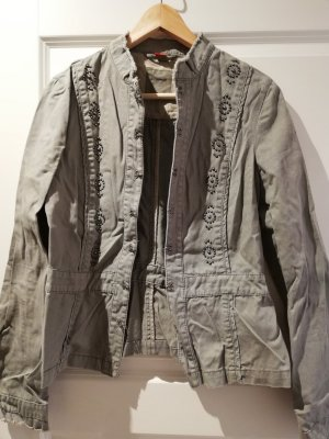 Esprit Spijkerblazer groen-grijs-khaki