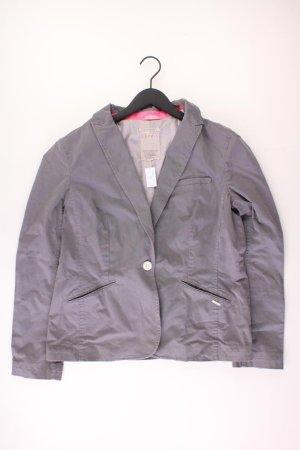 Esprit Blazer Größe 38 grau aus Baumwolle