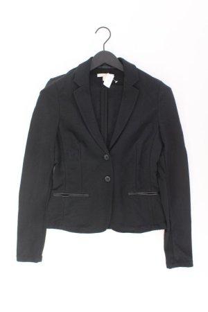 Esprit Blazer Größe 38 schwarz aus Viskose