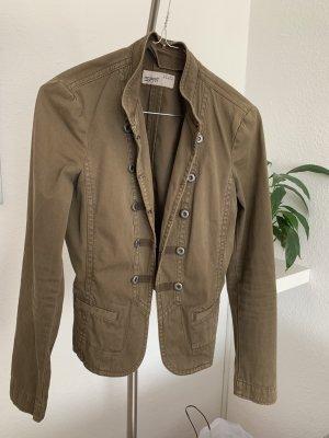 Esprit Blazer en jean ocre coton