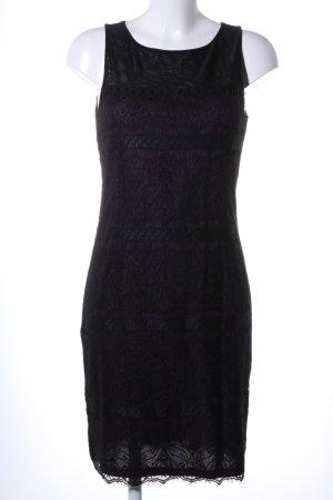 Esprit Bleistiftkleid schwarz grafisches Muster Elegant