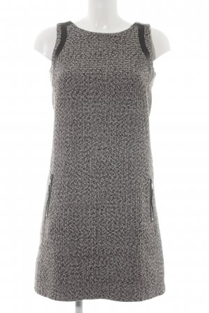 Esprit Bleistiftkleid schwarz-weiß Webmuster Business-Look