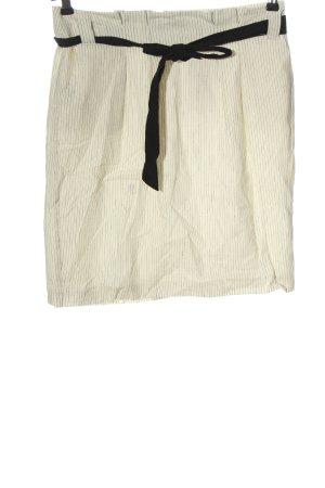 Esprit Bleistiftrock weiß-schwarz Allover-Druck Casual-Look