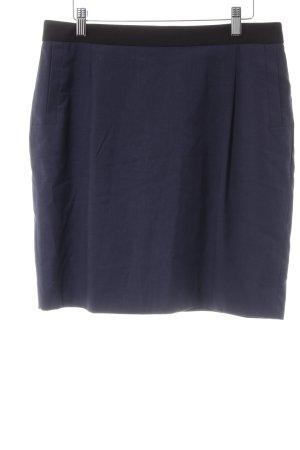 Esprit Bleistiftrock dunkelblau-schwarz Elegant