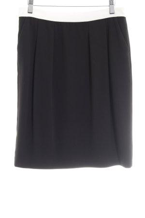 Esprit Bleistiftrock schwarz-weiß Business-Look