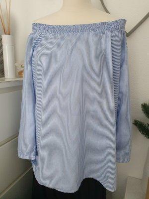 Esprit Bluse blau-weiß gestreift Gr. M