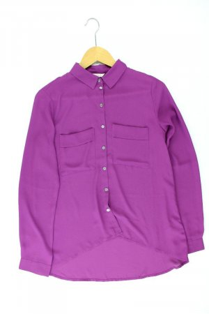 Esprit Blusa ancha lila-malva-púrpura-violeta oscuro Poliéster