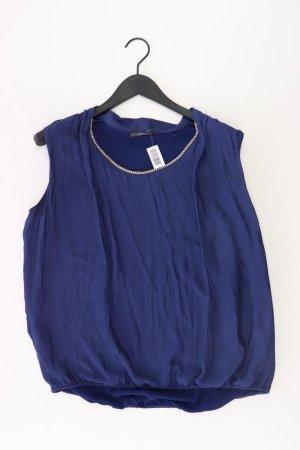 Esprit Bluse Größe 42 blau aus Polyester