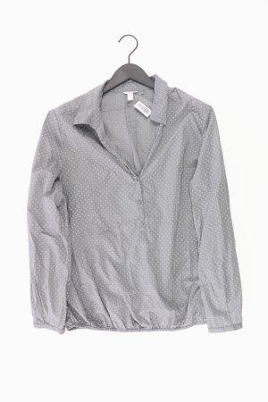 Esprit Bluse Größe 44 gepunktet grau