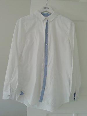 Esprit Bluse Hemd Hemdbluse Baumwolle 38