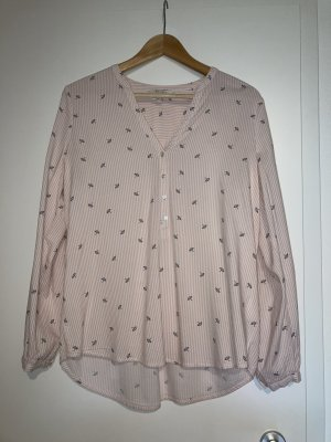 Esprit Bluse in rosa mit kleinen Schirmchen