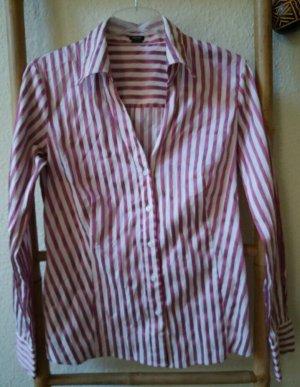 adc by Esprit Bluzka z długim rękawem biały-różowy
