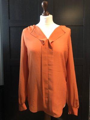 Esprit Bluse lang/tall Gr. 40 saftiges Orange