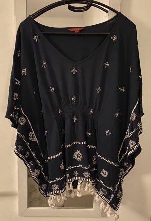 edc by Esprit Kimono blouse donkerblauw