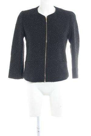 Esprit Blouse Jacket black-gold-colored flecked Metal elements