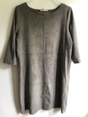 Esprit Vestido camisero gris