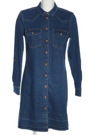 Esprit Robe chemisier bleu style décontracté