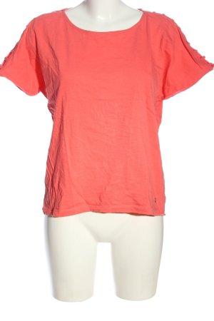 Esprit Cols de blouses rose moucheté style décontracté